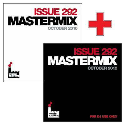 Mastermix Issue 292 Twin DJ CD Set Mixes ft Best 80s Club Anthems Ever