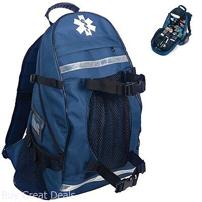 Ergodyne Arsenal 5243 First Responder Trauma Emt Aid Backpack Blue Bags Kits Lab