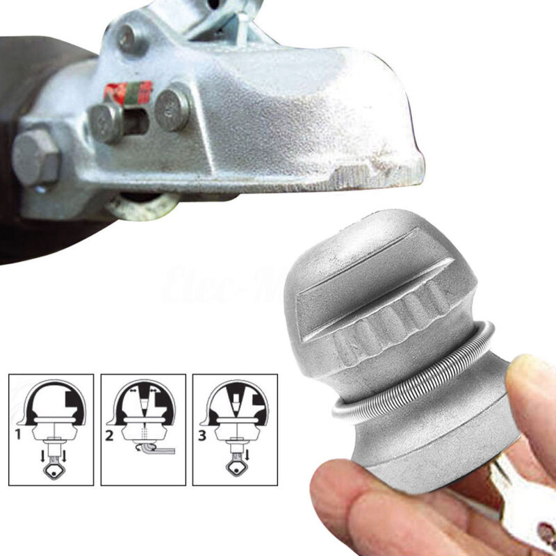 1Pcs Universal Hitchlock Trailer Hitch Coupling Lock Tow Ball Lock Caravan Lock