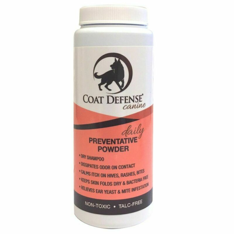 Coat Defense Canine Daily Preventative Powder 6 Oz