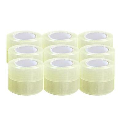 18 Rolls 2 Mil 330ft 1.9 X 110 Yards Clear Carton Sealing Packing Package Tape