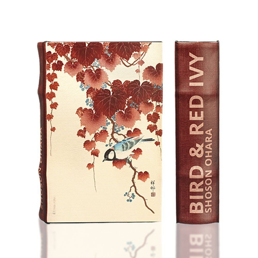 "Shoson Ohara ""bird And Red Ivy"" Secret Book Box Handmade ..."