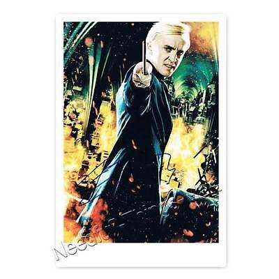 Tom Felton alias Draco Malfoy aus Harry Potter - Autogrammfoto [AK1] 
