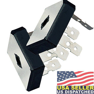 2x Multicomp Bridge Rectifier Diode 400 V 25a Lawnmower Replace Oem 72256-03