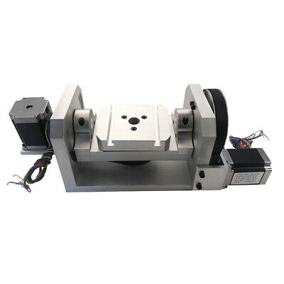 Cnc Rotary Table Rotational Axis A C Axis 4th 5th Axis Router Engraving Machine