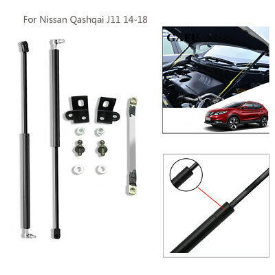1 Pair Car Trunk Lift Support Gas Bonnet Support Kit for Nissan ...