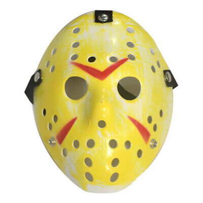 Mask Funny Rare Voorhees Friday The 13th Hockey Scary Mask (Halloween Hockey)
