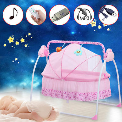 Auto Swing Baby Crib Babyschaukel Automatische Safe Elektrische Baby Wiege