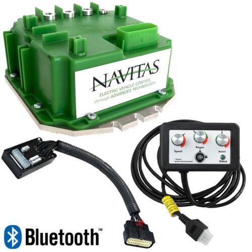 EZGO TXT PDS (01-09) Navitas 440 Amp (36V) Upgrade Controller Kit with Bluetooth