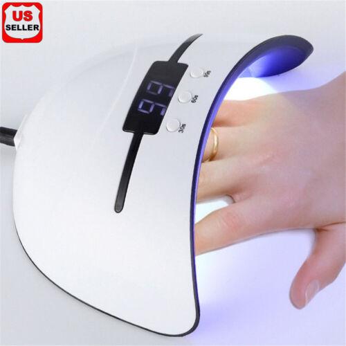 36W Nail Polish Dryer Pro UV LED Lamp Acrylic Gel Curing Light Manicure Timer OC Health & Beauty