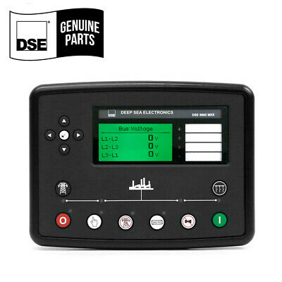 Dse8660 Mkii Auto Transfer Switch Mains Ct Rtc Original 1 Year Warranty