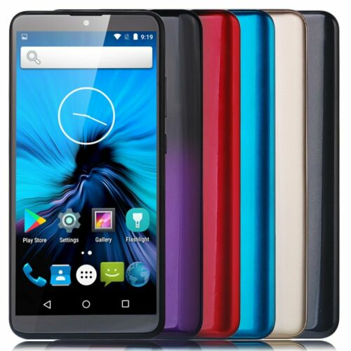 """Android Phone - Cheap Unlocked 6.0"""" Android Mobile Smart Phone Quad Core Dual SIM WiFi GPS 3G UK"""