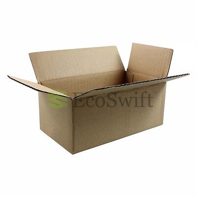 100 7x4x3 Cardboard Packing Mailing Moving Shipping Boxes Corrugated Box Cartons