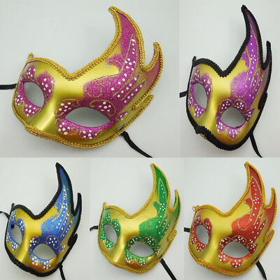 Halloween Venetian Masquerade Mask Women Sexy Party Club Fancy Dress Costume New - Halloween Club Masquerade Masks
