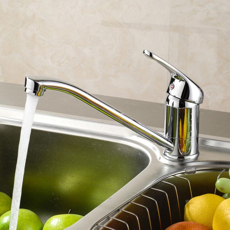 Wasserhahn Küchenarmatur Waschtischarmatur Einhebel Edelstahl ...
