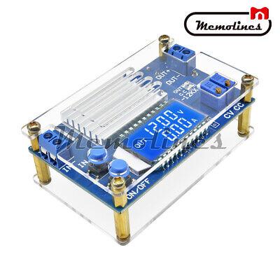 12a Digital Lcd Display Buck Step Down Power Supply Board Adjustable Module