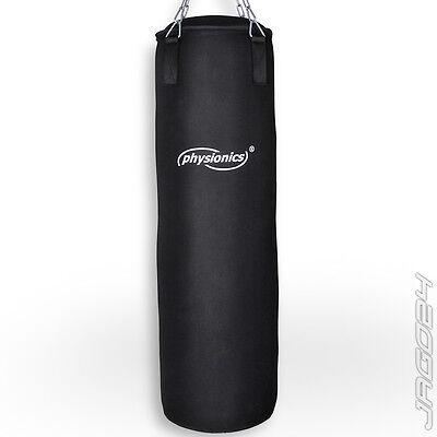Boxsack Canvas Sandsack gefüllt Boxtraining Training Sportgerät Fitness ca 100cm