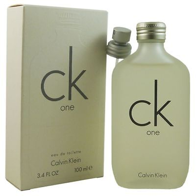 Calvin Klein CK One 100 ml Eau de Toilette EDT (Calvin Klein Eau)