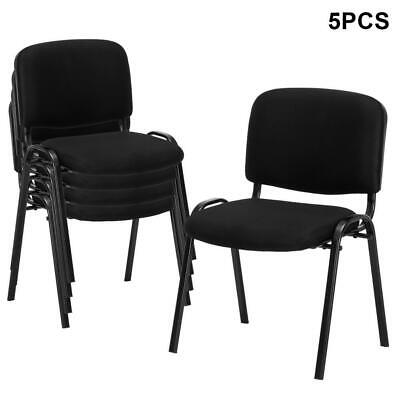 5 Pack Ergonomic Conference Office Computer Desk Chair Meeting Room Seat