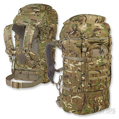 CQC SENTINEL 100 LITRE BERGEN MTP MULTICAM RUCKSACK BRITISH ARMY MILITARY