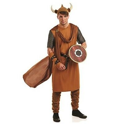 Viking - Costume Fancy Dress Mens Medieval Outfit Thor Saxon Ladies Warrior (Lady Thor Costume)