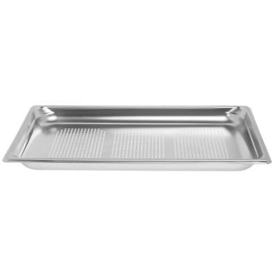 Vollrath Super Pan 3 Steam Table Pan Full Size Stainless Steel Perforated - 1
