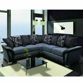 🎁🩸GOOD QUALITY CHENILLE FABRIC SHANNON CORNER & 3+2 SEATER SOFA SETS NOW IN STOCK AT LOW PRICES🩸