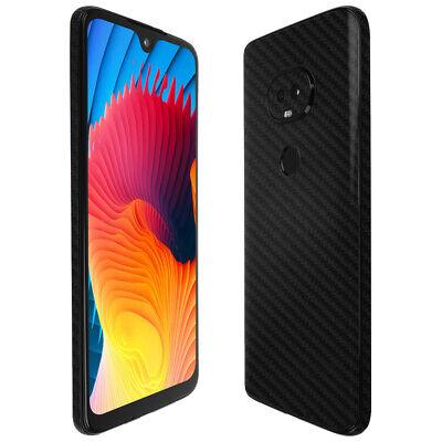 Skinomi Black Carbon Fiber Skin Cover For T-Mobile REVVLRY 2019  - $15.95