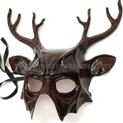 Halloween costume party Deer Masquerade Animal Mask Christmas Gift Art Wall Deco - Animal Mask Halloween