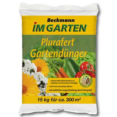 Beckmann Plurafert Gartendünger 15KG Abono Vegetal Fruit Fertilizante Plantas