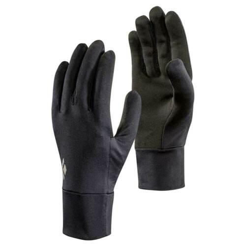 NEW! Black Diamond LightWeight Screentap Running Hiking Gloves Black Small