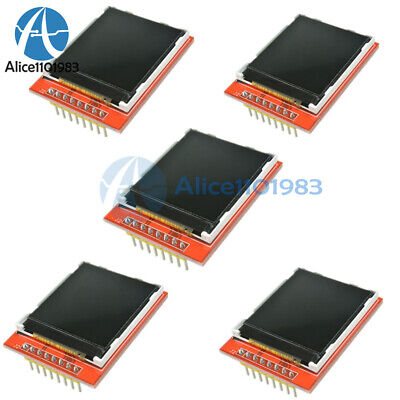 5pcs 1.44 Red Serial 128x128 Spi Color Tft Lcd Module Replace Nokia 5110 Lcd