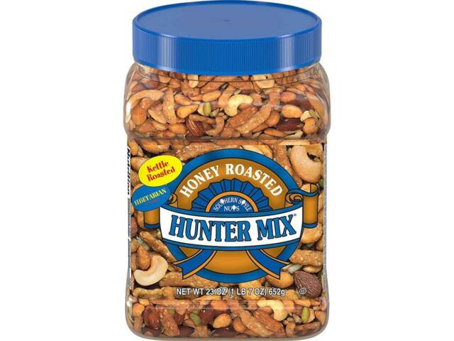 Souther Style Nuts, Honey Roasted Hunter Mix, 23 oz New