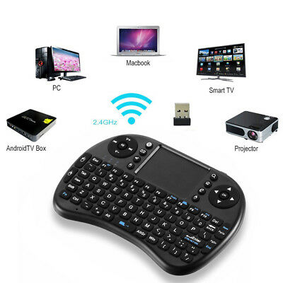 2 4G Mini Wireless Fly Air Keyboard Mouse Remote Touchpad For Android Tv Box  Pc