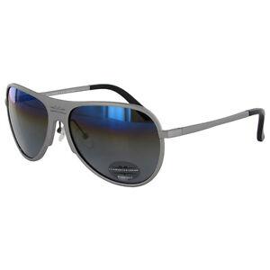 Vuarnet Extreme Unisex VE 7011 Rounded Polarized Aviator Sunglasses,Matte Grey