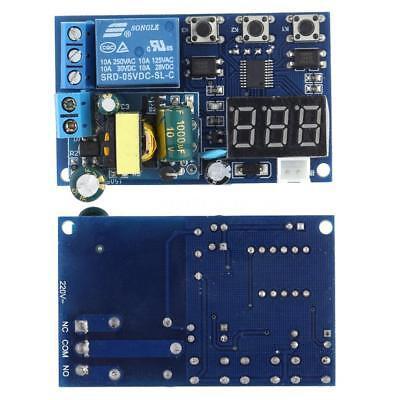 Automation Digital Delay Timer Control Switch Relay Module Pcb Board 220v M4q8