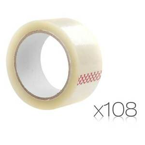NEW FREE SHIPPING - 108 Rolls Transparent Packing Tape Bouldercombe Rockhampton Surrounds Preview
