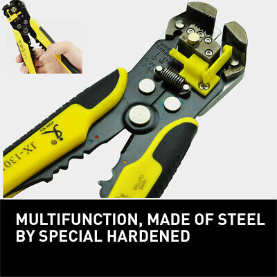 Wire Cutter Crimper Cable Strippers Pliers Self Adjusting Terminal Electric Tool