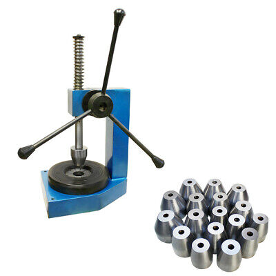 Heavy Duty Bangle Sizing Stretcher Enlarger Expander Sizer Machine w/ 17 Collets