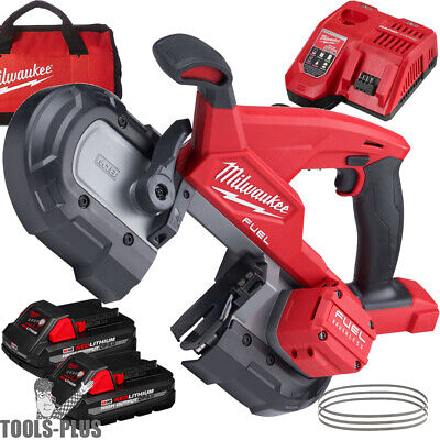 Milwaukee 2829-22 M18 Fuel Compact Band Saw 2 Battery Kit New