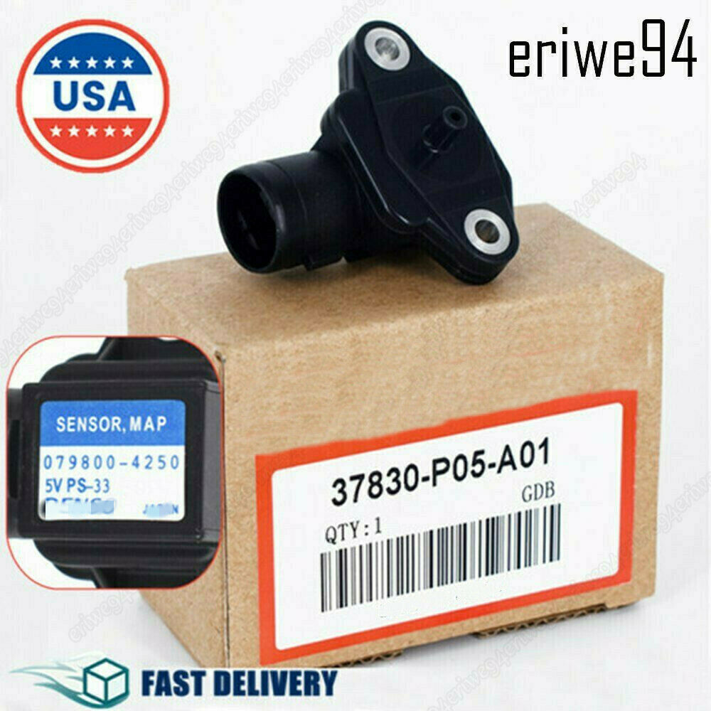 New 079800-4250 Map Sensor For Hd Accord Civic Cr-v Acura
