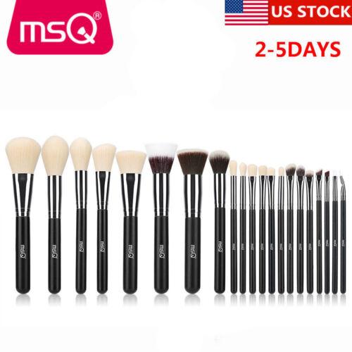 US 21pcs Makeup Brushes Set Powder Foundation Eyeshadow Line