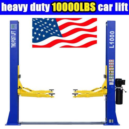 A++10,000 lbs L1000 Two Post Lift Car Auto Truck Hoist 220V Great Quality !!!