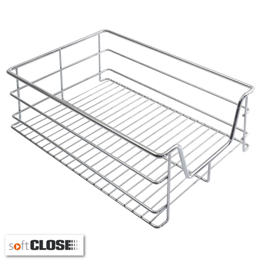 Pull Out Wire Baskets For Kitchen Or Bedroom Base Unit With Soft ...