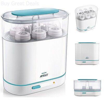 Baby Bottle Steam Sterilizer (Baby Sterilizer Bottle Steam Baby Infant Son Dryer Milk Safety Electric Cleaner )