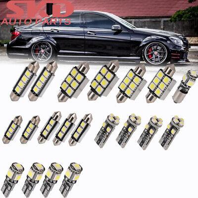 20× SMD LED Innenraumbeleuchtung Standlicht Für Mercedes W204 S204 Xenon Canbus