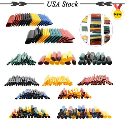 328pc 21 Color Heat Shrink Wire Sleeve Wrap Wire Cable Assortment Shrinkable
