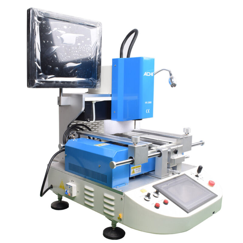 ACHI Automatical Optical Alignment BGA IR15000 Rework Station & Infrared Heating