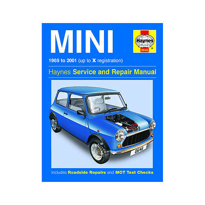 Mini 0.9 1.0 1.1 1.3 Petrol 1969-01 (up to X Reg) Haynes Manual
