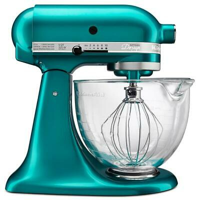 *Brand New* KitchenAid 5-Qt Tilt-Head Stand Mixer KSM155GBSA  - Sea Glass